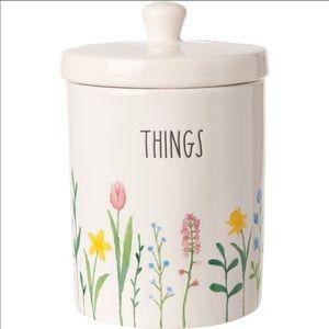 🆕Rae Dunn THINGS jar